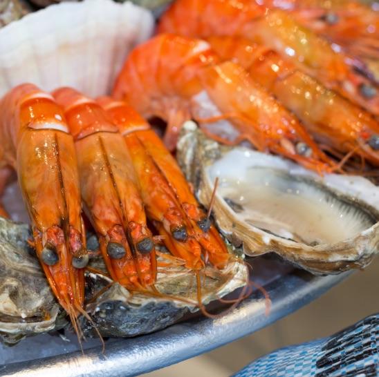 Bistrot du Pecheur - plateau fruits de mer