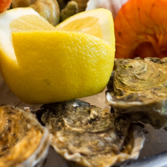 Bistrot du Pecheur - plateau fruits de mer2